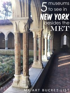 NYC besides the MET