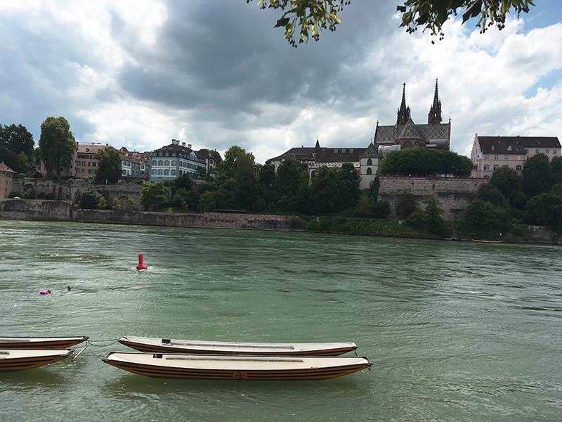 Basel swim Rhine