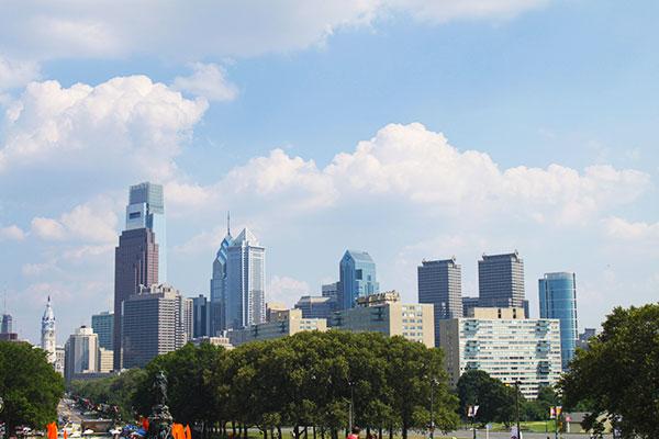 Philadelphia Skyline My art bucket list