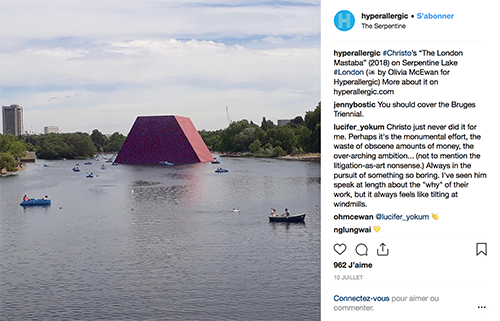 instagram hyperallergic my art bucket list