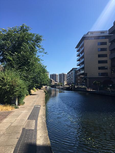 My art bucket list London Canal