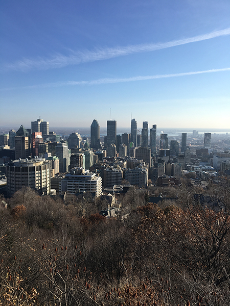 My art bucket list Montréal Parc Mont Royal