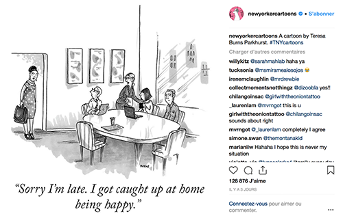 Instagram New Yorker Cartoons My art bucket list