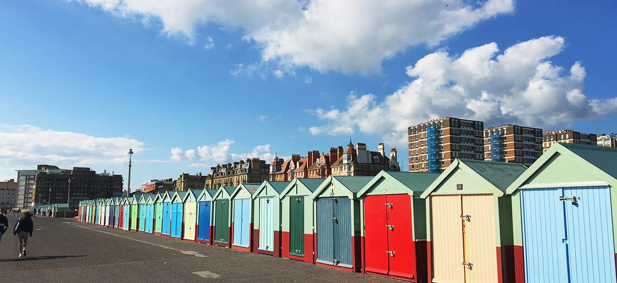 Brighton: Day trip idea from London + a free map!