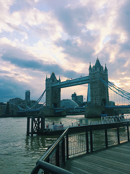 My art bucket list Tower Bridge London