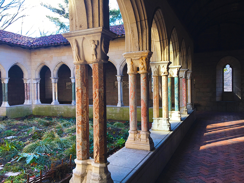 My art bucket list The Cloisters New York
