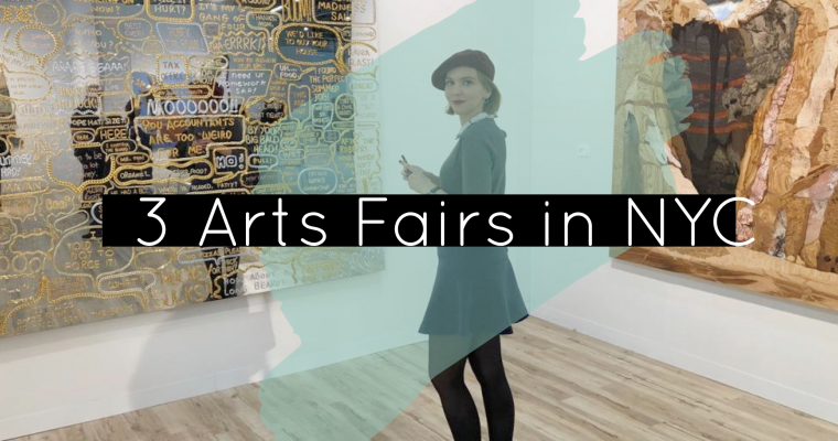 3 Art fairs in NYC