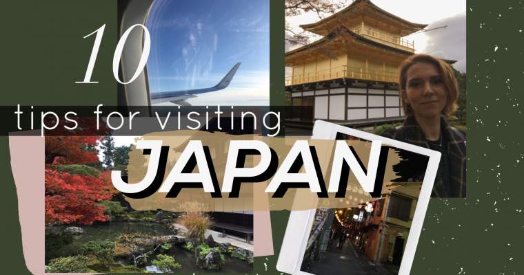 10 tips for visiting Japan
