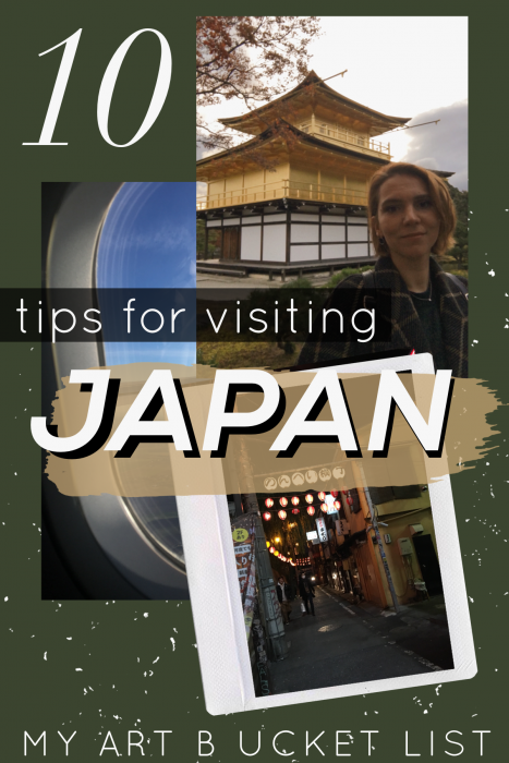 10 tips for visiting JAPAN Pin
